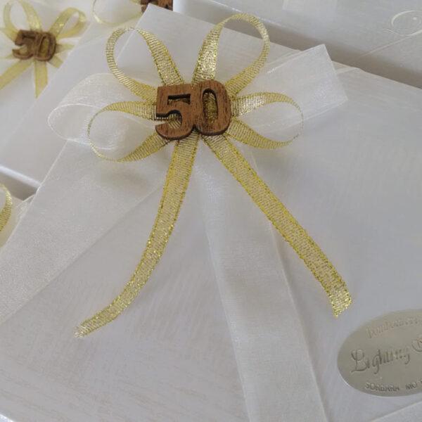 bomboniere 50° anniversario matrimonio