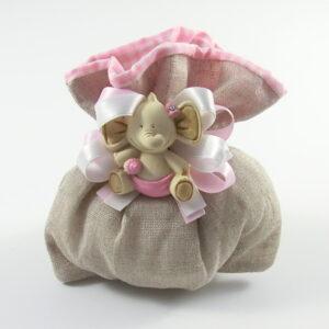 sacchetto con magnete elefante