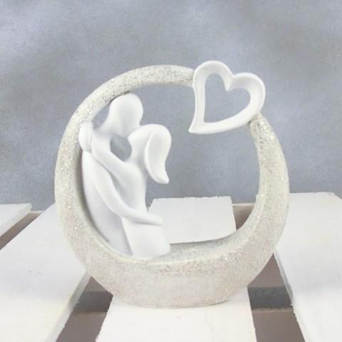 Foto Bomboniere Matrimonio.Bomboniera Matrimonio Coppia Sposi Con Cuore Lighting Ideas