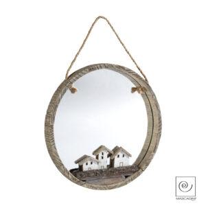 articoli regalo oggettistica specchio legno