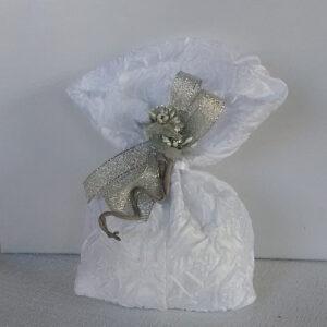 sacchetto per nozze d'argento