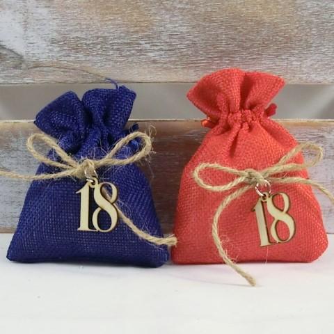 bomboniere 18 ° compleanno