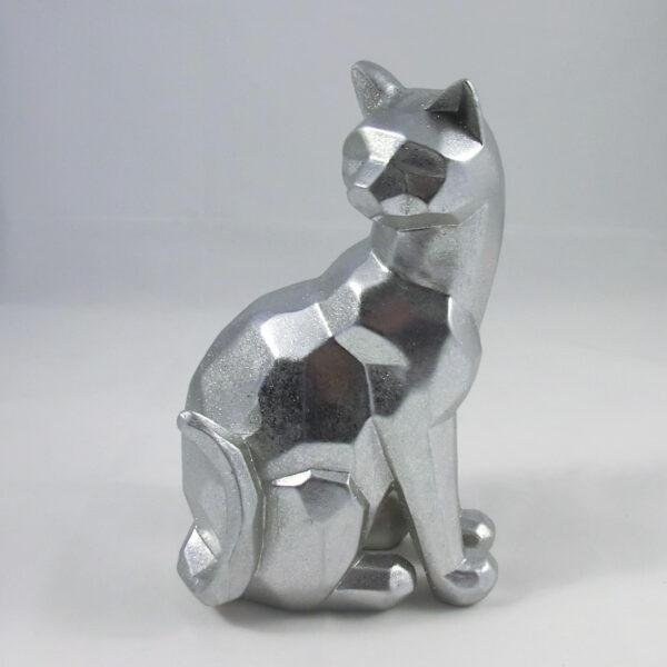 gatto argentato regali oggettistica