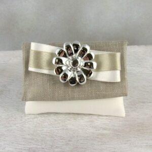 bomboniere portaconfetti nozze d'argento