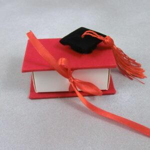 bomboniere laurea portaconfetti rosso