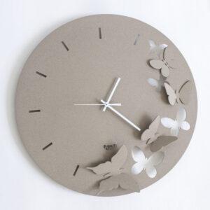 orologio da parete in metallo