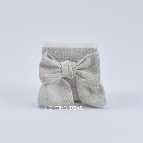 bomboniera matrimonio scatolina con fiocco