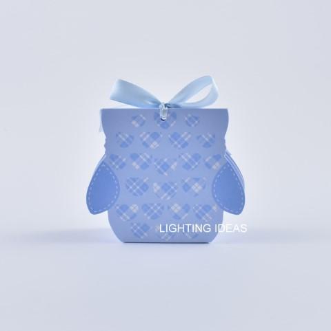 bomboniera gufetto azzurro portaconfetti