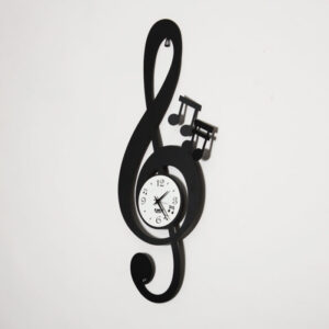 orologio parete chiave musicale