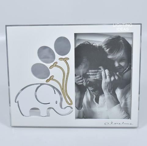 bomboniera portafoto con elefante Claraluna
