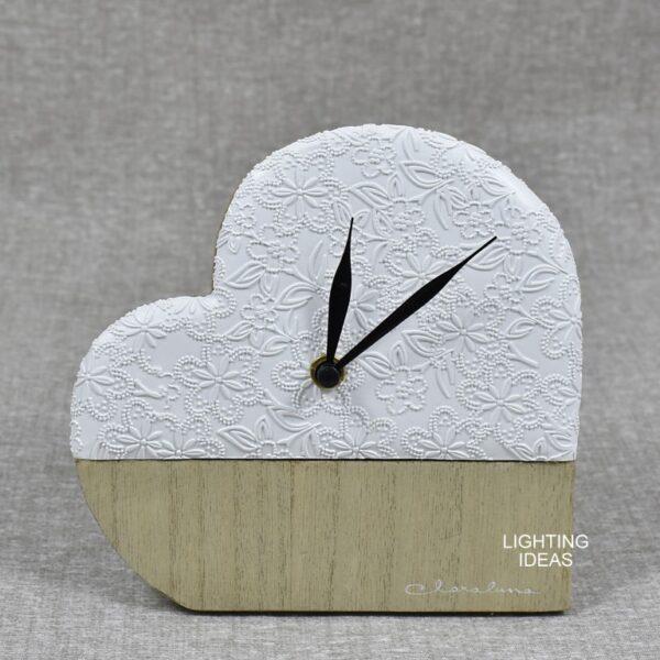 bomboniera orologio cuore claraluna