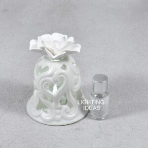 bomboniera claraluna campana bianca