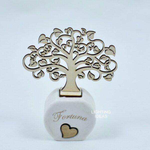 bomboniera diffuosre ambiente con albero della vita