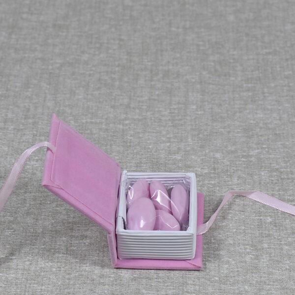 bomboniere battesimo confetti rosa
