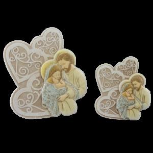 bomboniere intreccio di cuor i sacra famiglia