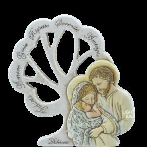 bomboniera albero della vita sacra famiglia