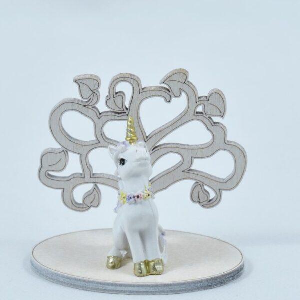 bomboniere unicorno albero della vita