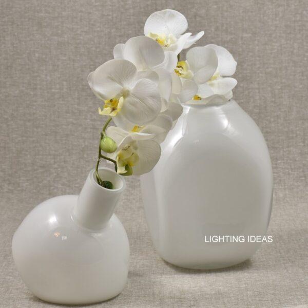 vaso bianco claraluna