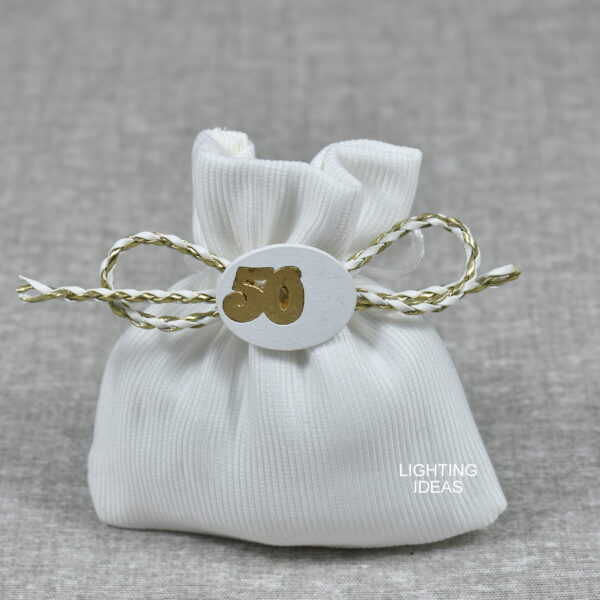 bomboniera anniversario 50° nozze d'oro