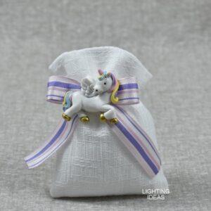 sacchetto cuorematto con unicorno