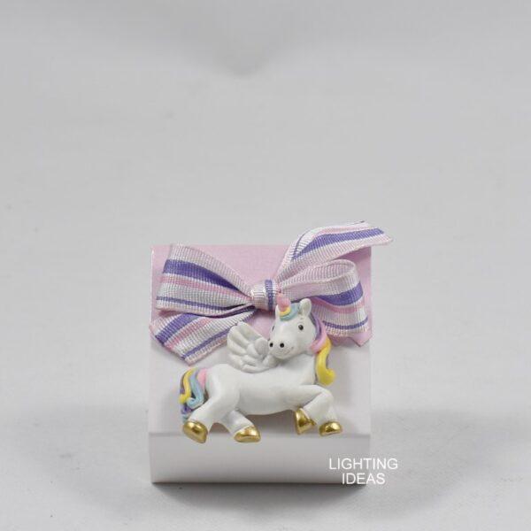 bomboniera unicorno battesimo