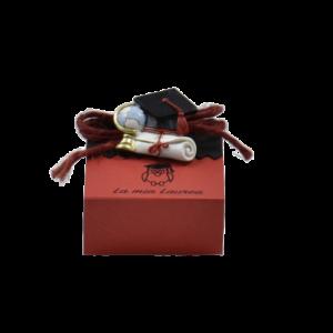 Bomboniera laurea scatola portaconfetti