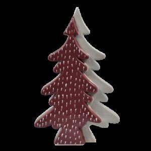 albero natale doppio in ceramica