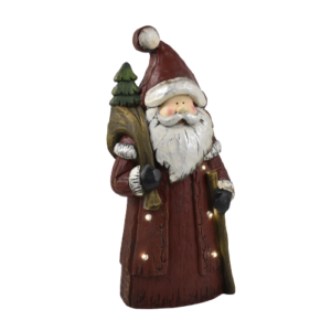 Babbo Natale in legno