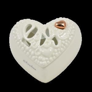 scatola cuore Claraluna bomboniere