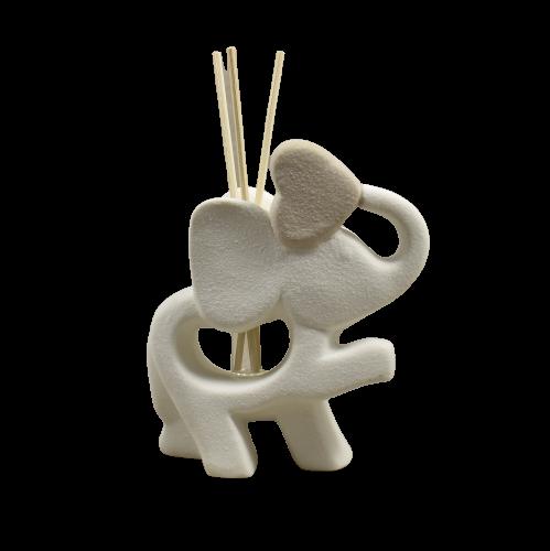 bomboniere claraluna elefante diffusore ambiente