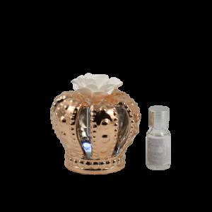Bomboniere claraluna profumatore ambiente corona rame