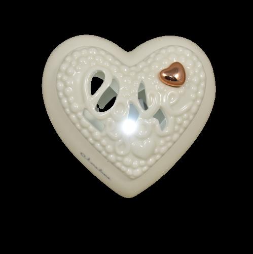 bomboniera cuore claraluna luce led