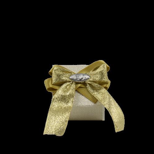 bomboniera portaconfetti nozze d'oro