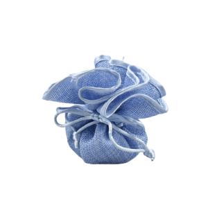 sacchetto azzurro battesimo