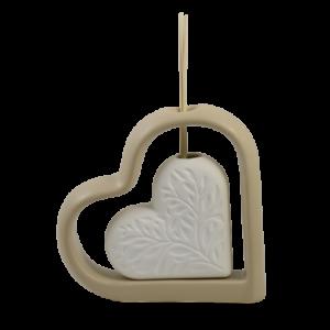 bomboniera doppio cuore claraluna