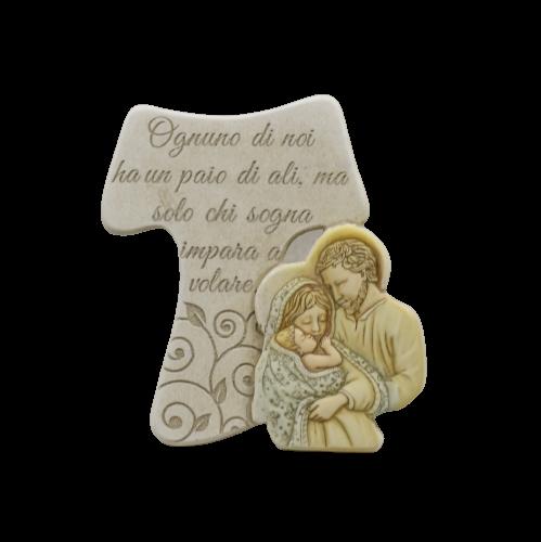 bomboniera croce sacra famiglia